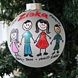 Handpainted Family Ornament