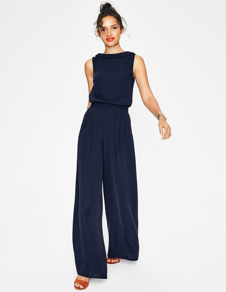 Boden Clarissa Jumpsuit Queen Letizia S Navy Jumpsuit September