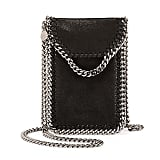 Stella McCartney Crossbody Bag Phone Holder w/Chain Trim ($560)