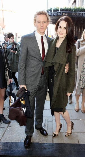 Tom Hiddleston and Michelle Dockery