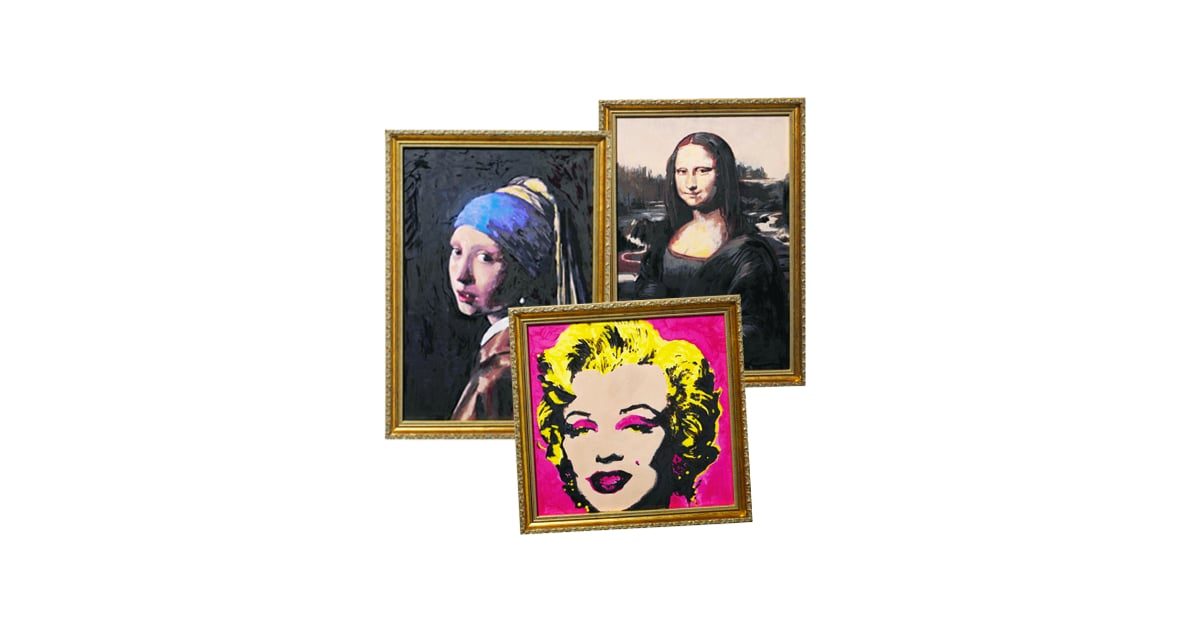 Makeup Masterpieces: Mona Lisa and Marilyn Painted with ...