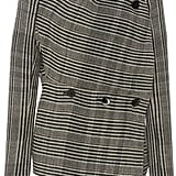 Jil Sander Fogar Striped Asymmetric Jacket