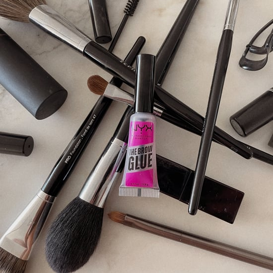 NYX Brow Glue Review With Photos