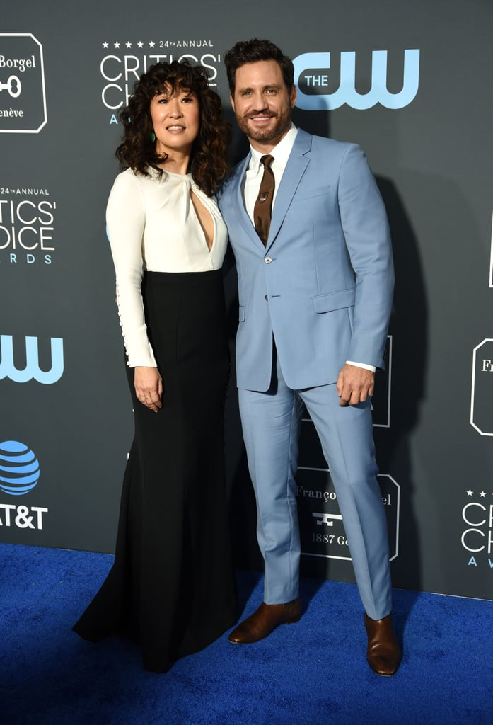 Pictured: Sandra Oh and Edgar Ramirez
