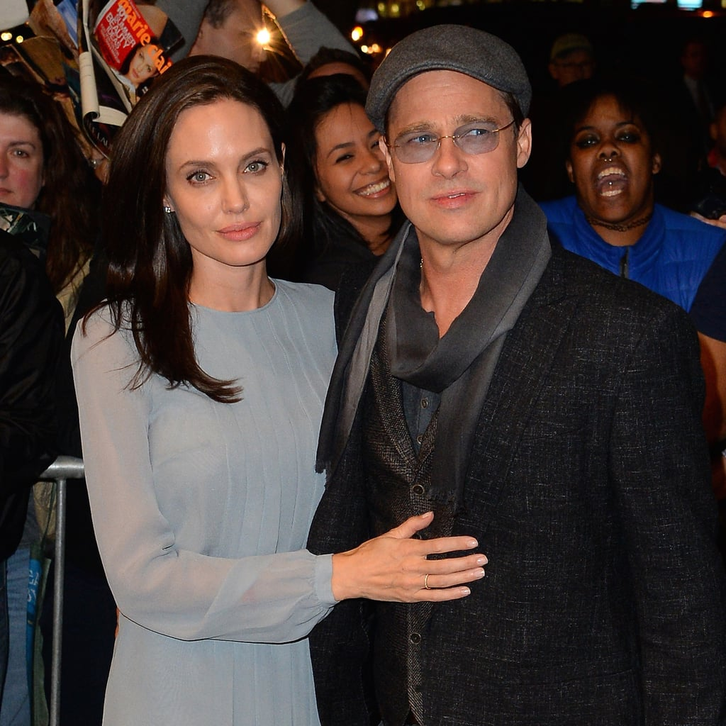 Angelina Jolie and Brad Pitt at By the Sea Screening in NYC