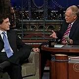 On Letterman