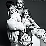 Christina Aguilera With Her Son Max and Daughter Summer