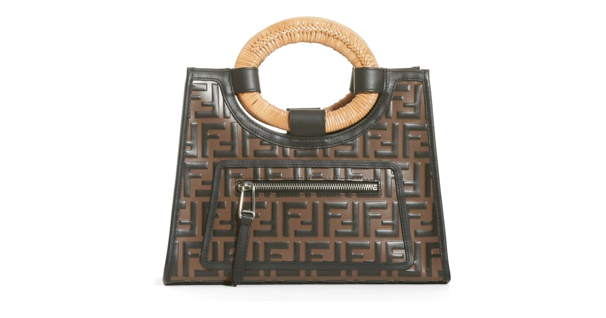 5a13c4ee Fendi Runaway Logo Calfskin Leather Shopper | Best Designer Bags ...
