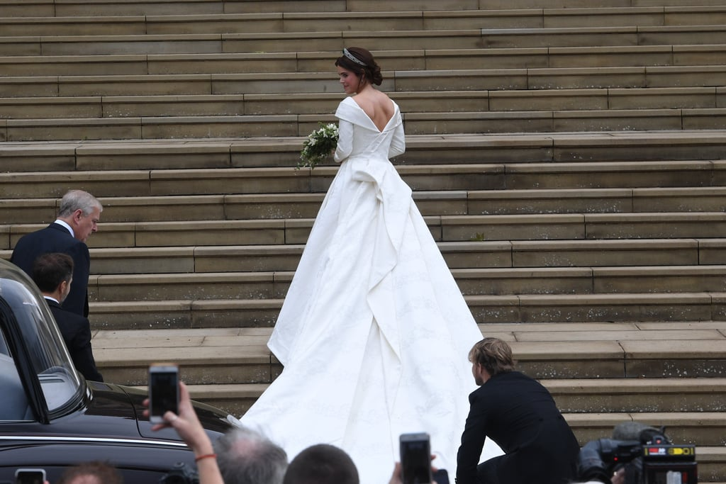 4cf7e16be66 Princess Eugenie Wedding Dress Details