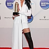 FKA Twigs at the 2014 Mercury Prize Awards