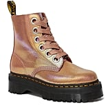 Dr. Martens Molly in Pink Iridescent