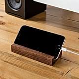 Minimalist Wood iPhone Stand