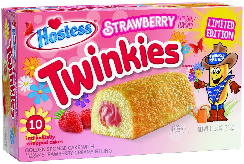 Hostess Spring Strawberry Twinkies