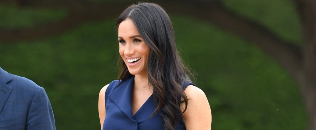 Meghan Markle Wearing Blue During Her Pregnancy 2019