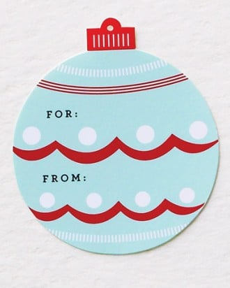 Ornament Gift Tags