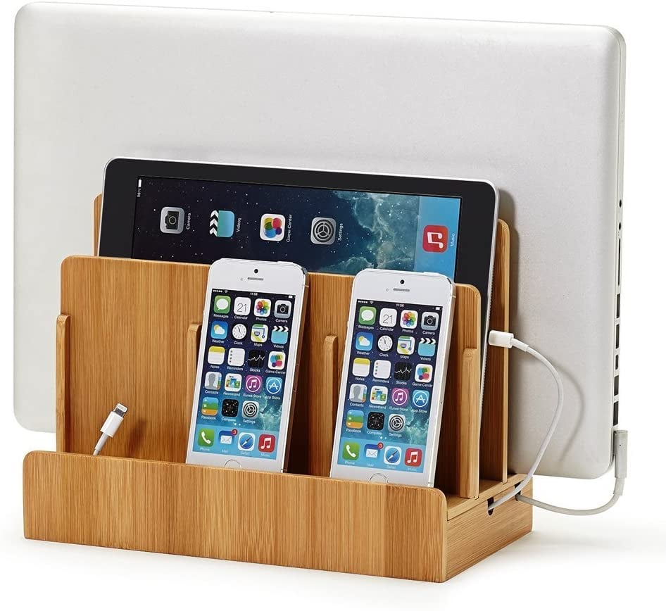 Multi-Device Charging Station Dock