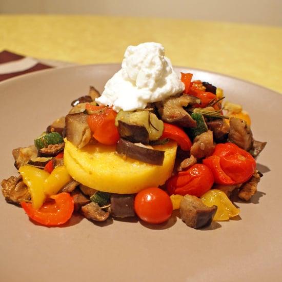 Baked Ratatouille and Polenta Recipe