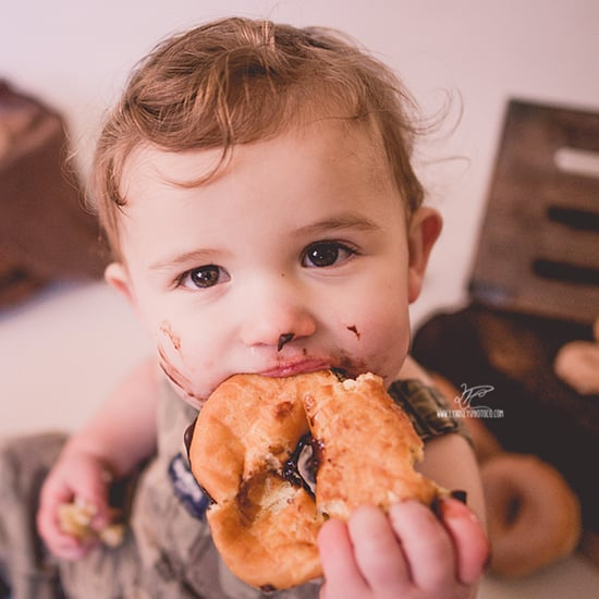 First Birthday Doughnut Smash Photoshoot