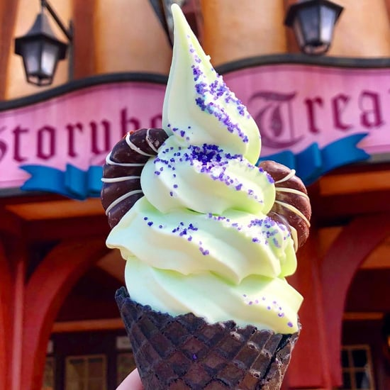 Disney World Maleficent Soft-Serve Cones