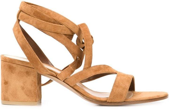 """Gianvito Rossi """"Janis"""" Sandals ($795)"""