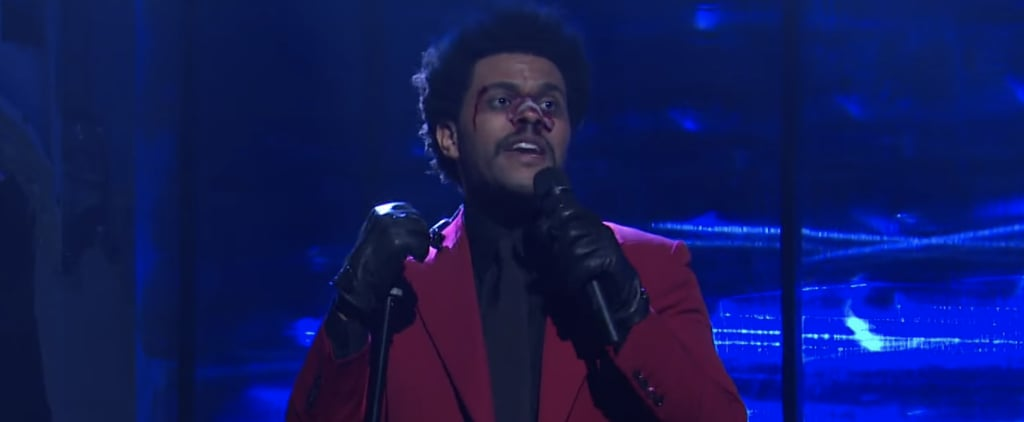 """The Weeknd's """"Blinding Lights"""" and """"Scared to Live"""" SNL Sets"""