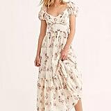 Love Shack Fancy Angie Linen Dress