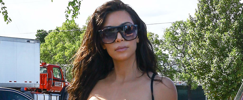 Kim Kardashian Steps Out in Miami After Showing Her Sense of Humor on Instagram