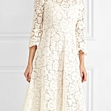 Valentino Corded Cotton-Blend Guipure Lace Midi Dress, $7,800