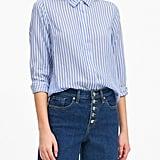 Parker Tunic-Fit Tencel Shirt