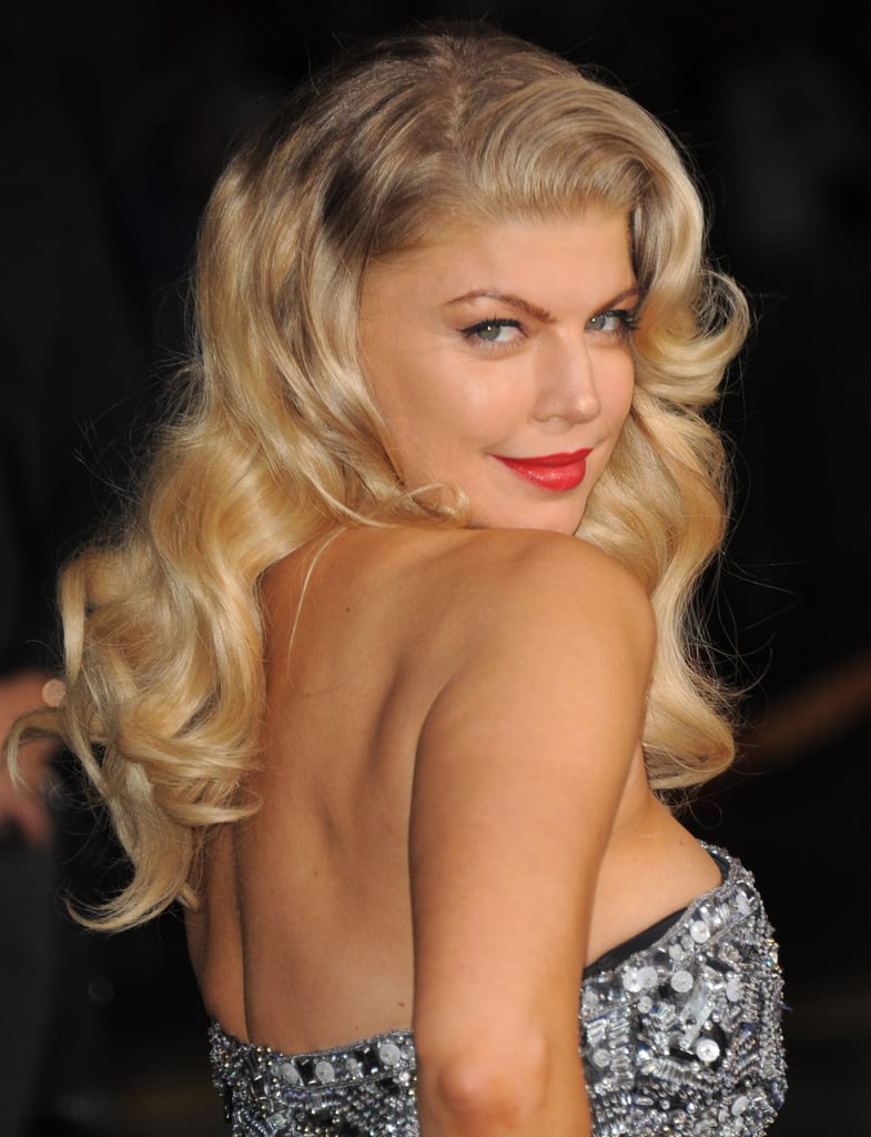 Fergie showed off her killer 'do.
