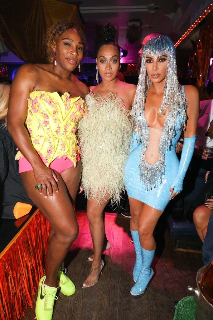 Serena Williams, La La Anthony, and Kim Kardashian