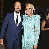 Pictured: Common and Mary J. Blige