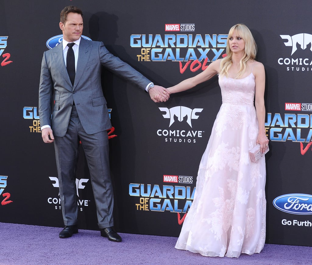 Chris Pratt and Anna Faris on the Red Carpet April 2017 ...