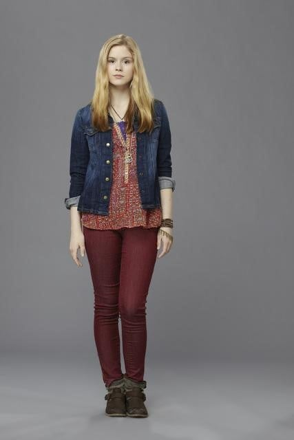 Erin Moriarty as Natalie in Red Widow.