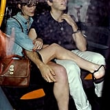Keira Knightley and her fiancé, James Righton, celebrated their engagement with a night out in London.