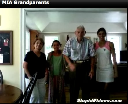 "Grandparents and Grandkids Dance to MIA's ""Paper Planes"""