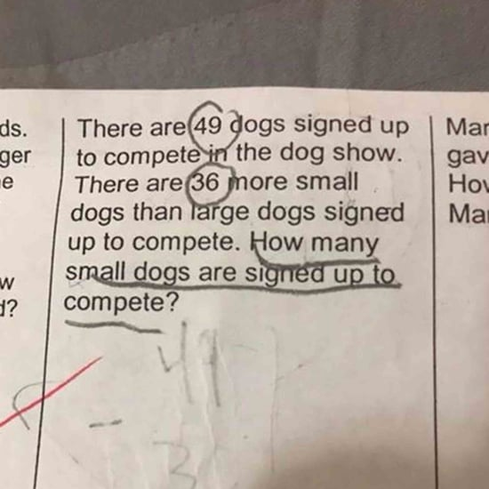 Hard Second Grade Math Problem