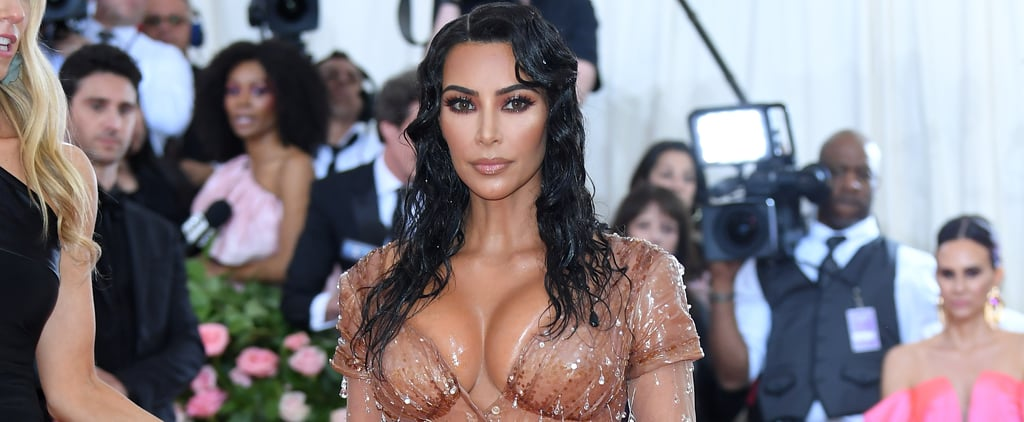 Kim Kardashian Uses Body Makeup on Her Grandma MJ