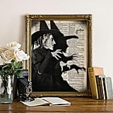 Vintage Wicked Witch Art Print