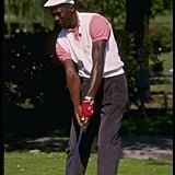 When Michael Jordan Rocked a White Ivy Cap to Match His White Sweater Vest
