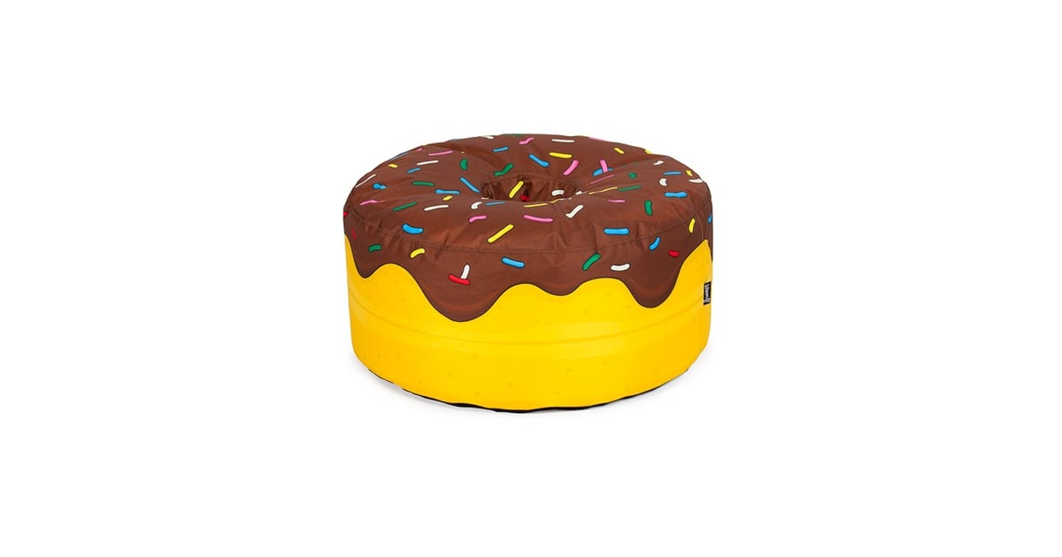 Donut With Chocolate Frosting Beanbag Chair | Doughnut Products For Kids |  POPSUGAR Moms Photo 29
