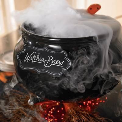 Witch's Brew Serving Cauldron