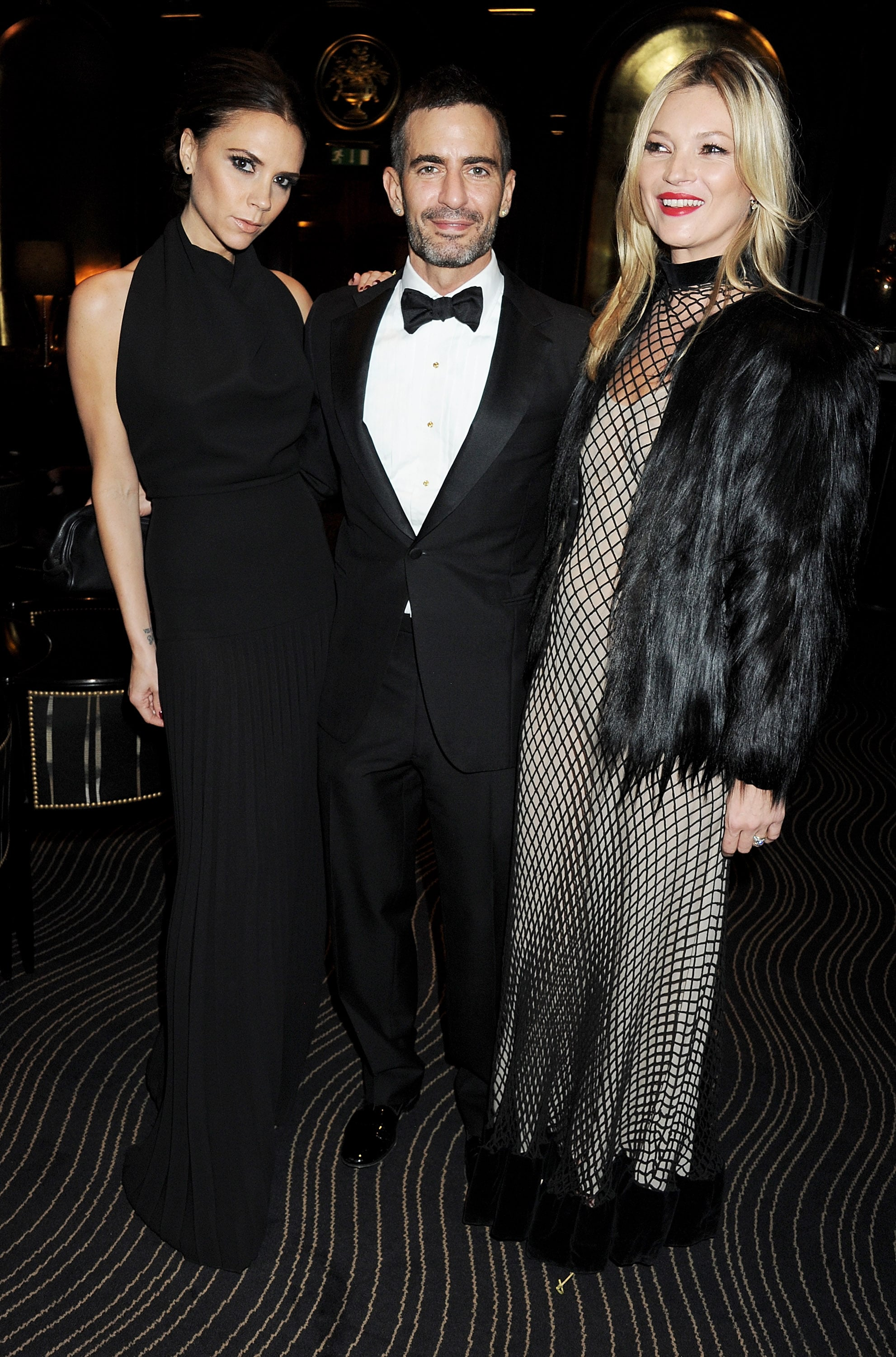 Victoria Beckham, Marc Jacobs and Kate Moss