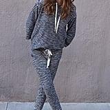 Lou & Grey Pomona Stripe Sweatsuit