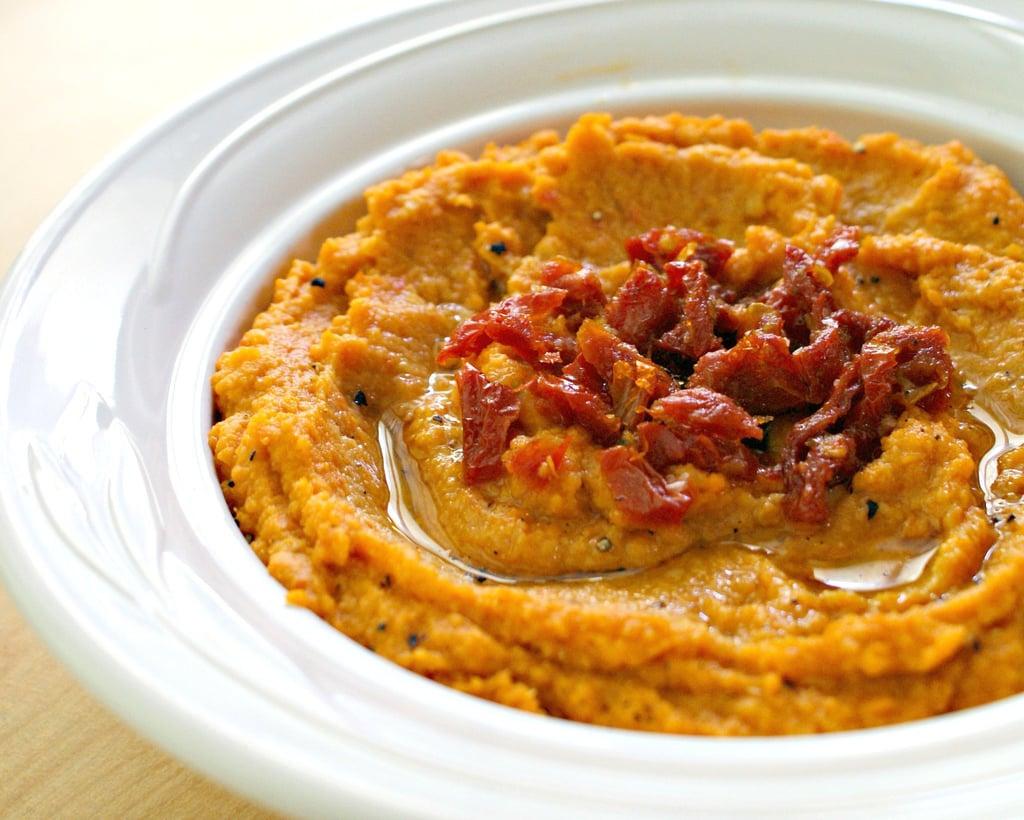 Vegetarian Appetizers: Sun-Dried Tomato Hummus