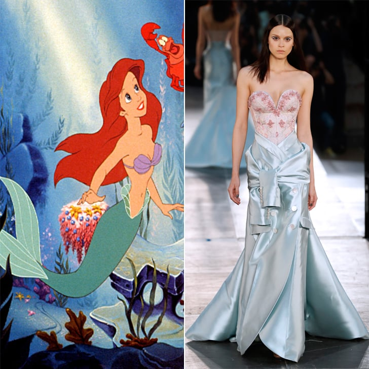 Ariel in Alexis Mabille Haute Couture