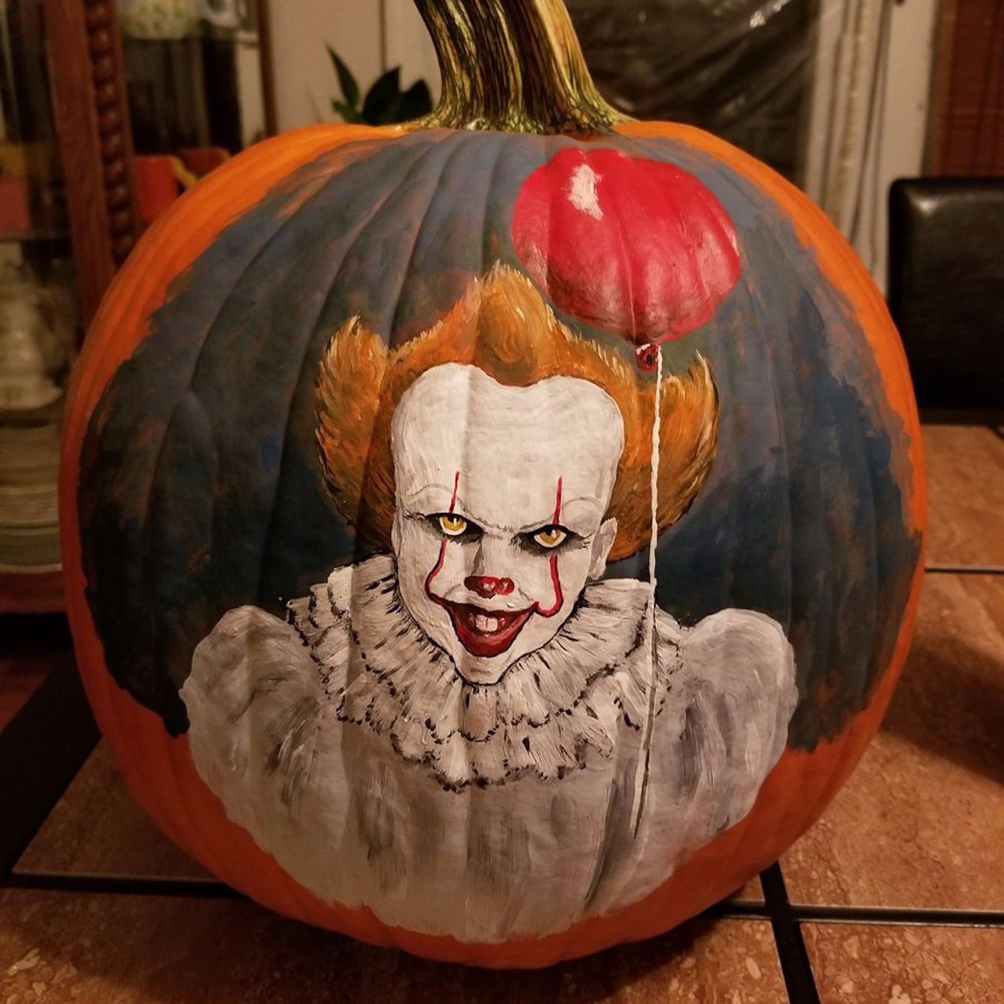 Pennywise Halloween Pumpkin Ideas | POPSUGAR Entertainment