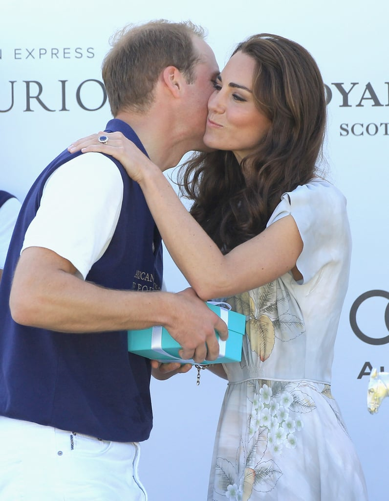 When She Showed PDA With Prince William