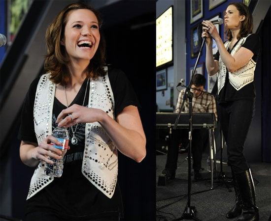 Photos of Mandy Moore Performing at Amoeba