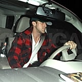 Ryan Gosling leaves the Chateau Marmont.